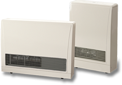 High-Efficiency Gas Heaters